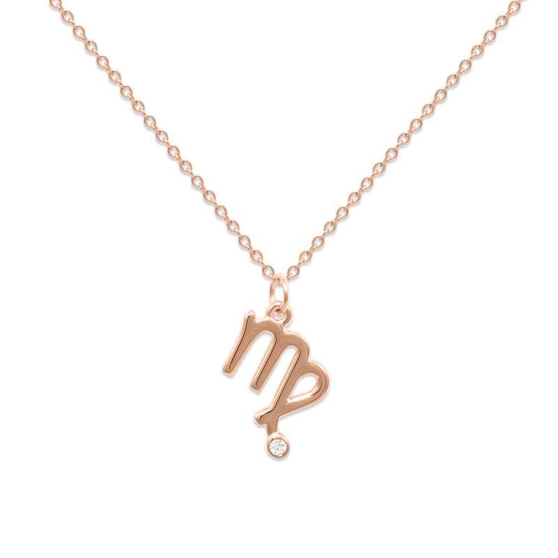 Virgo Kette Jewelry luisa-lion Rose Gold Vermeil Necklace size: S (45cm)