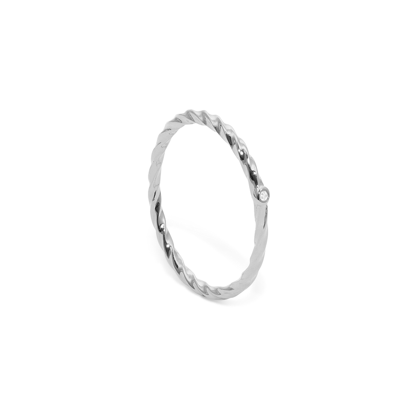 YOU BEGIN Ring Jewelry janasdiary 925 Silver XS - 49 (15.6mm)