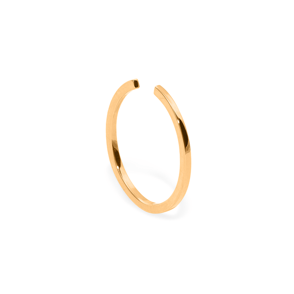 YOU GROW Ring Jewelry janasdiary 24ct Gold Vermeil XS - 49 (15.6mm)