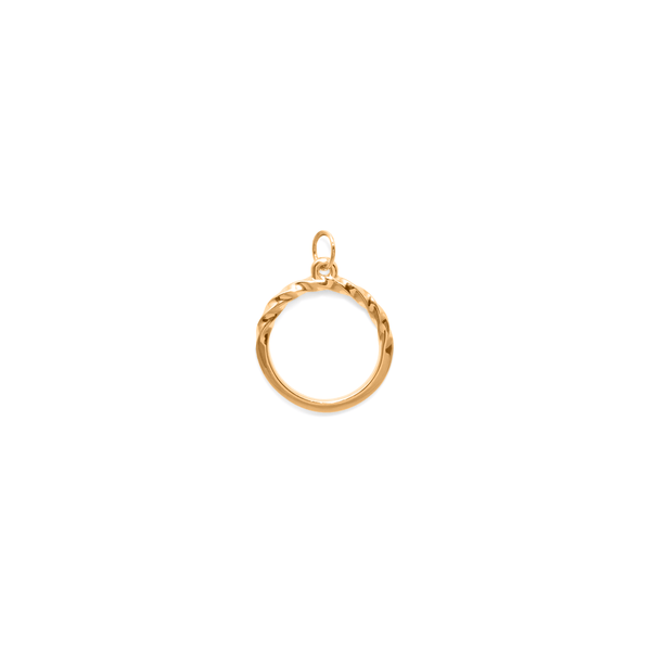 YOU LOVE Anhänger Jewelry janasdiary 24ct Gold Vermeil
