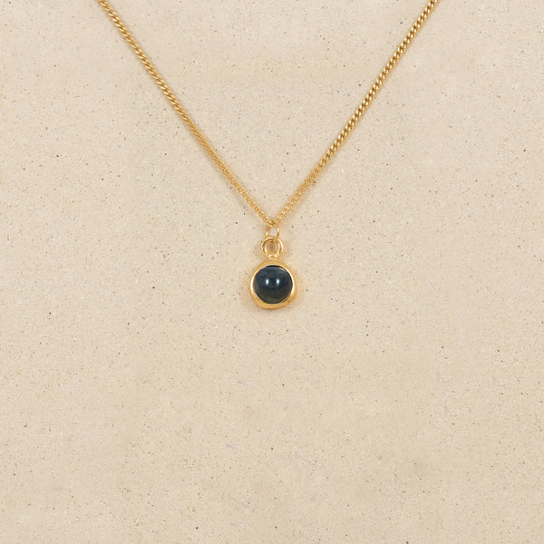 Zodiac Birthstone Necklace