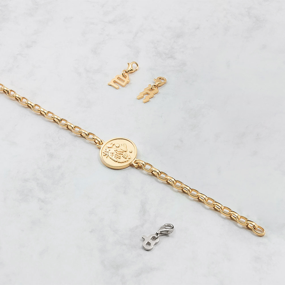 Zodiac Charm Bracelet Collection