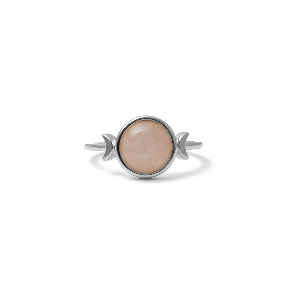 Magic Spell Ring Rose Quartz