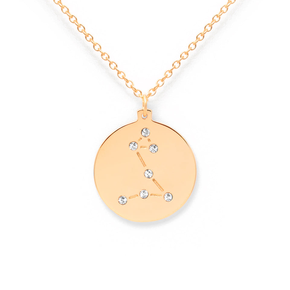 Constellation PISCES Necklace Glossy