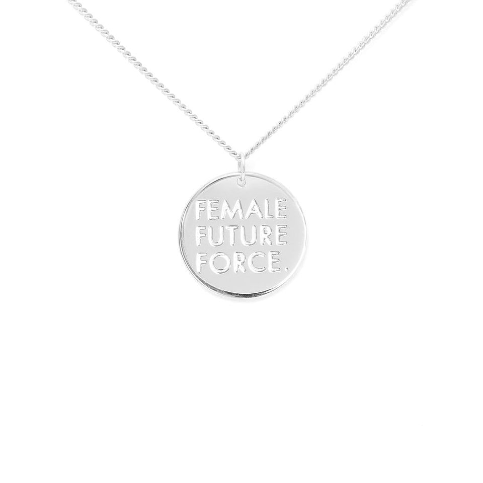 Female Future Force Necklace #fff
