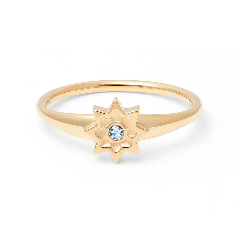 Birthstone MAR Ring