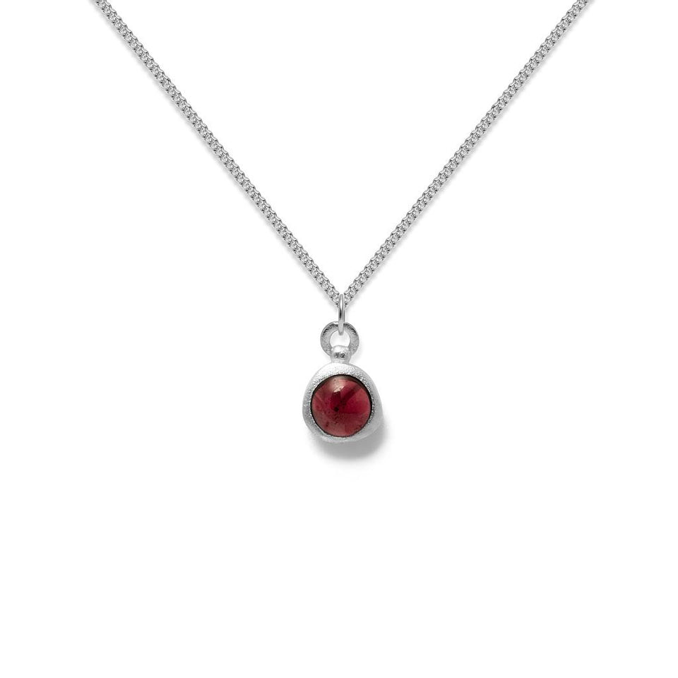Zodiac Birthstone Necklace (Capricorn)