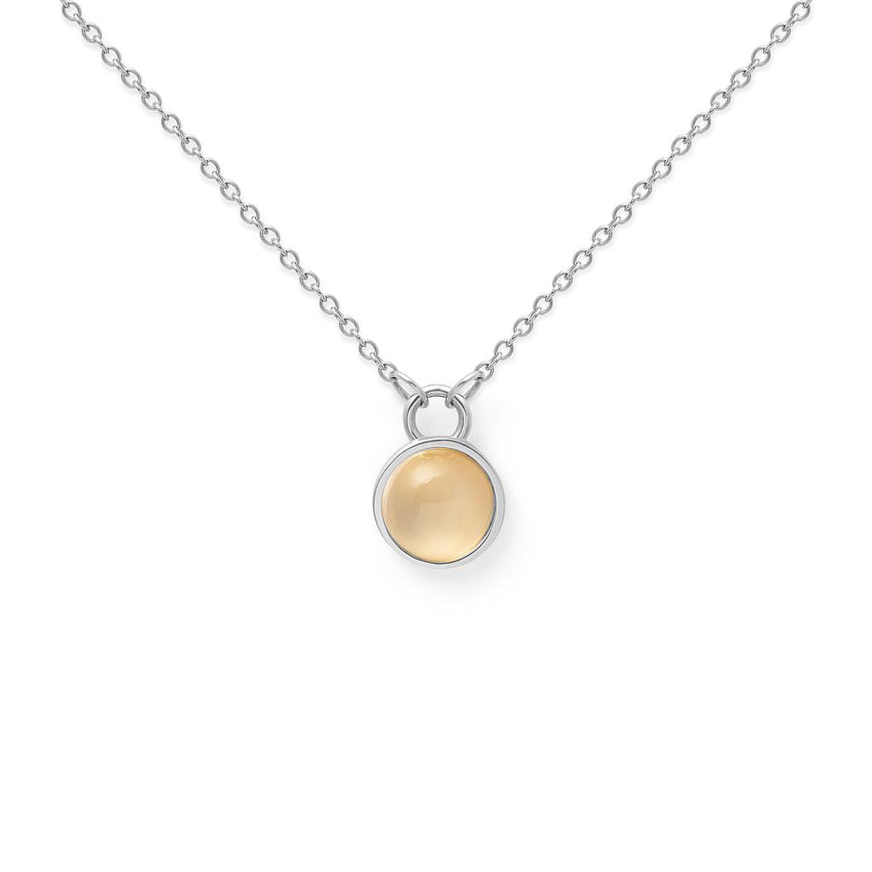 Light Up Moonstone Necklace