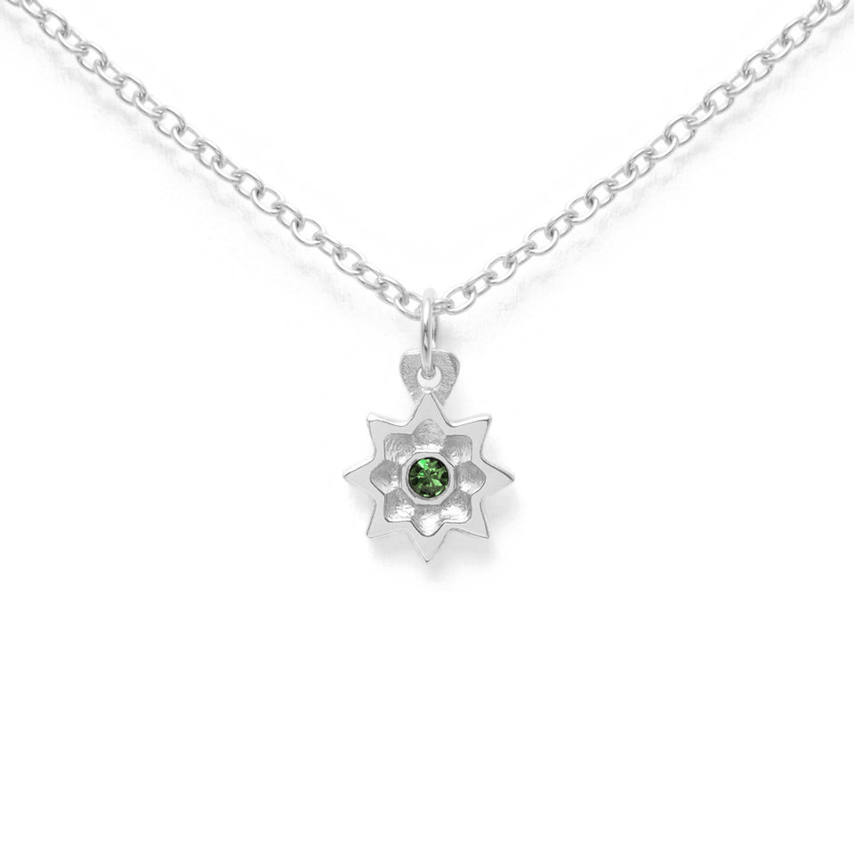 Birthstone MAY Necklace
