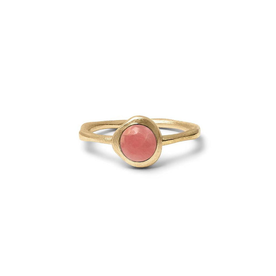 Zodiac Birthstone Ring (Scorpio) Solid Gold 14 ct