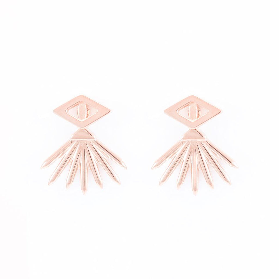 Aperture  Eye & Lash Earrings