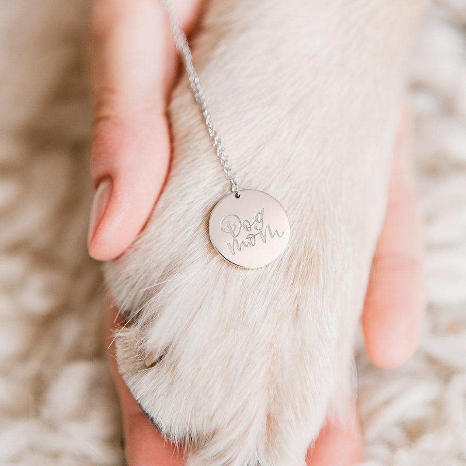 Dog Mom Necklace #mommycollection