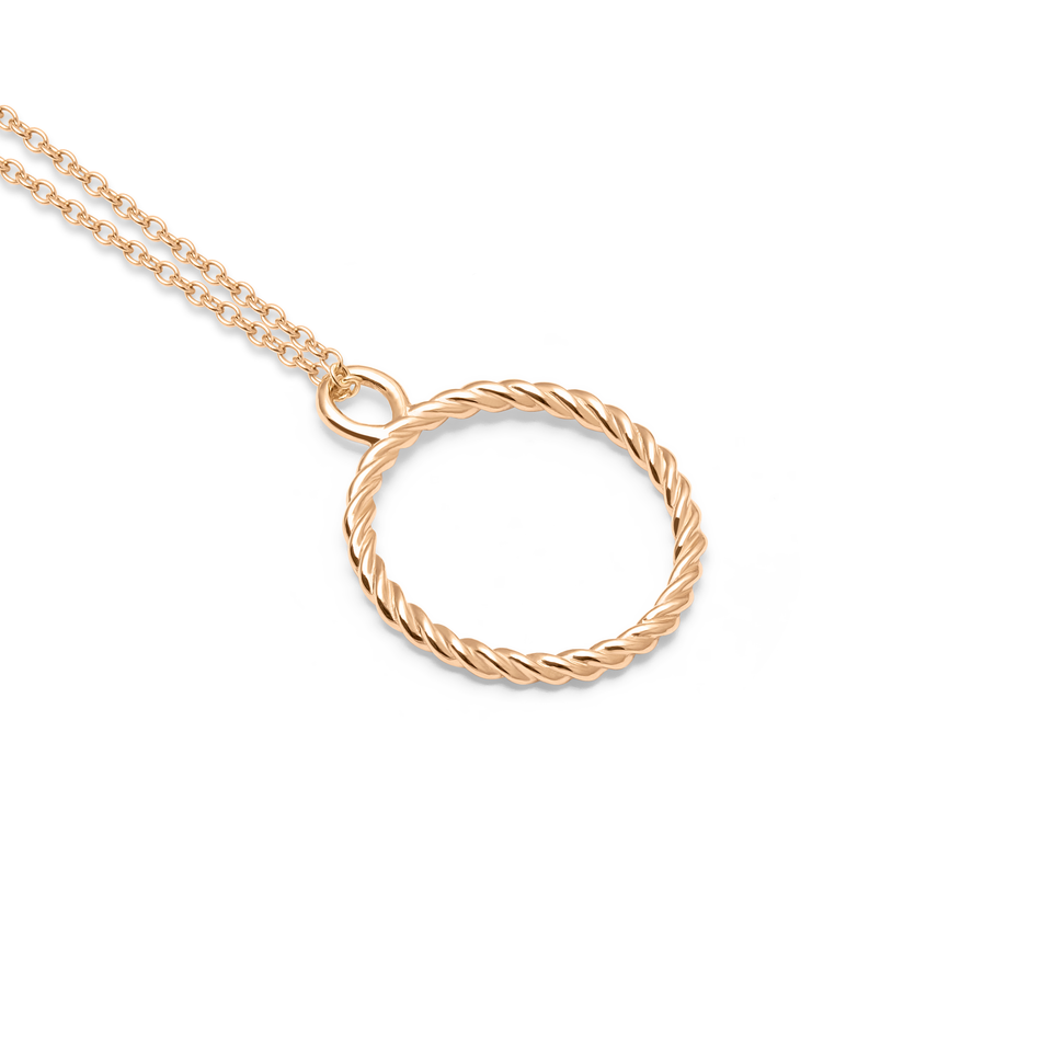 Dune Necklace (14ct solid gold)