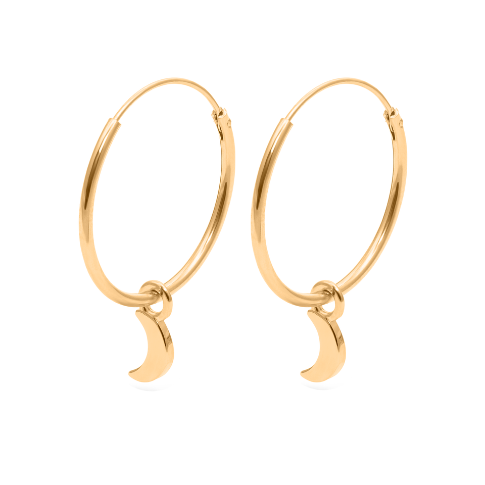 Magic Spell Ear Hoops No.2