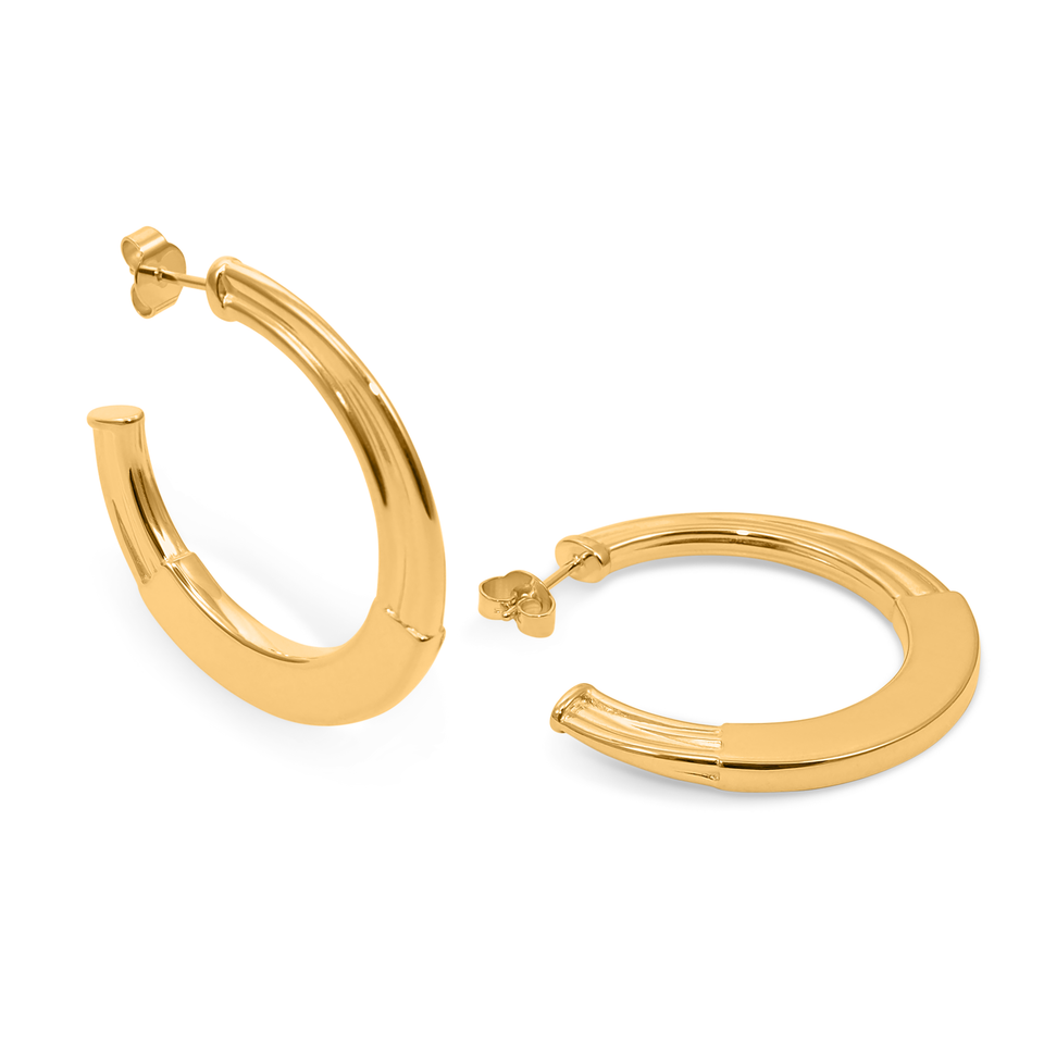 New York Deco Hoops