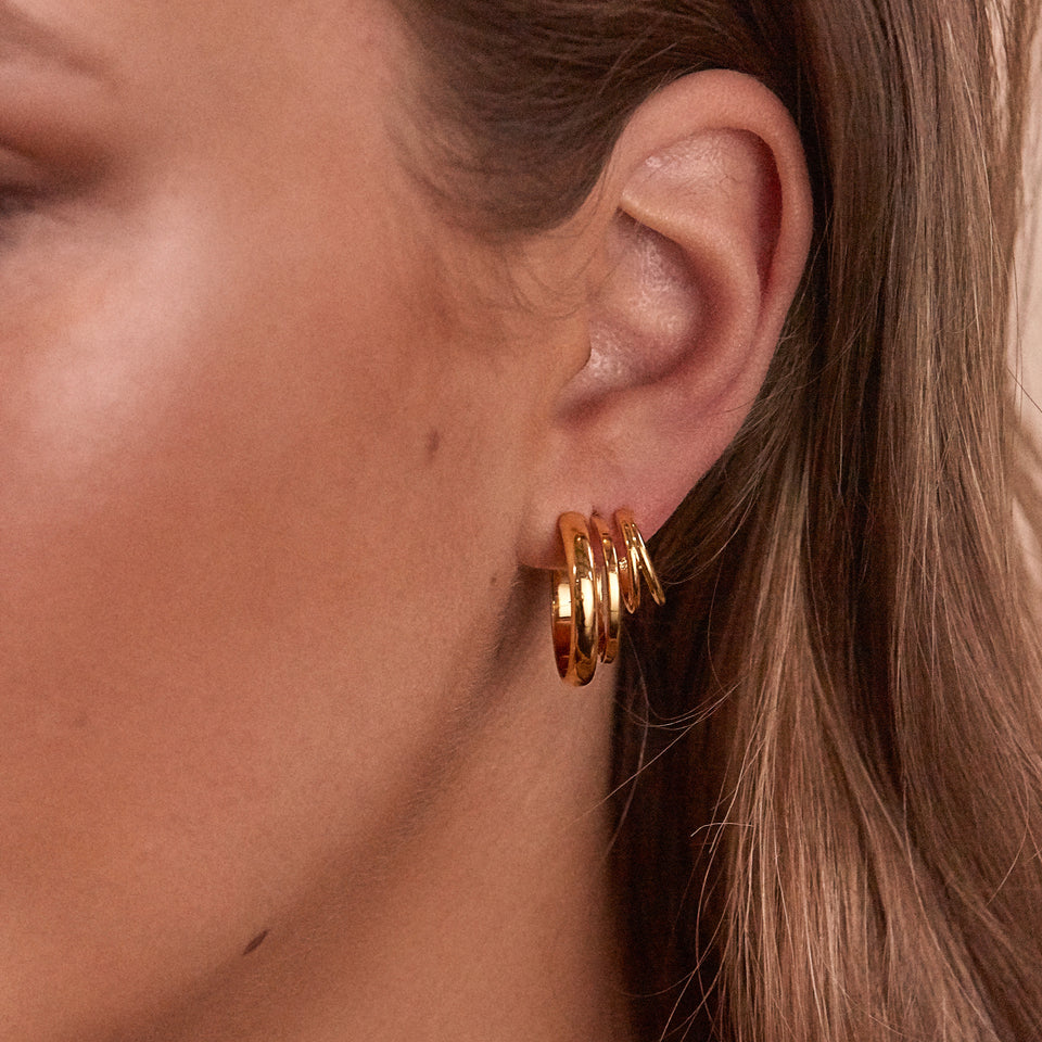 London Stacked Hoops