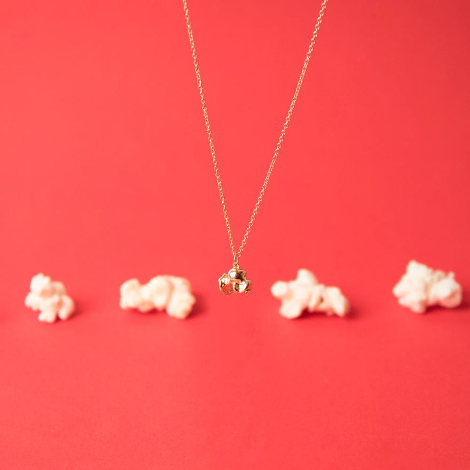 Popcorn Necklace #findyourflavour
