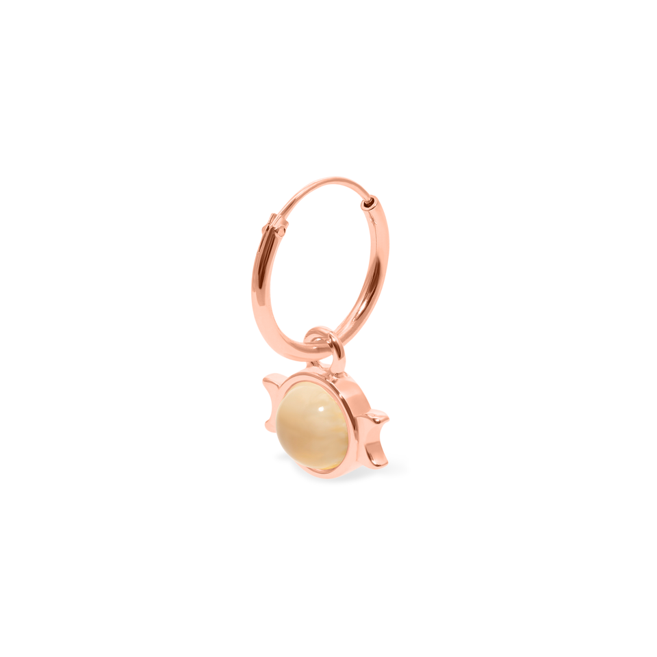 Magic Spell Ear Hoop No.1 Moonstone