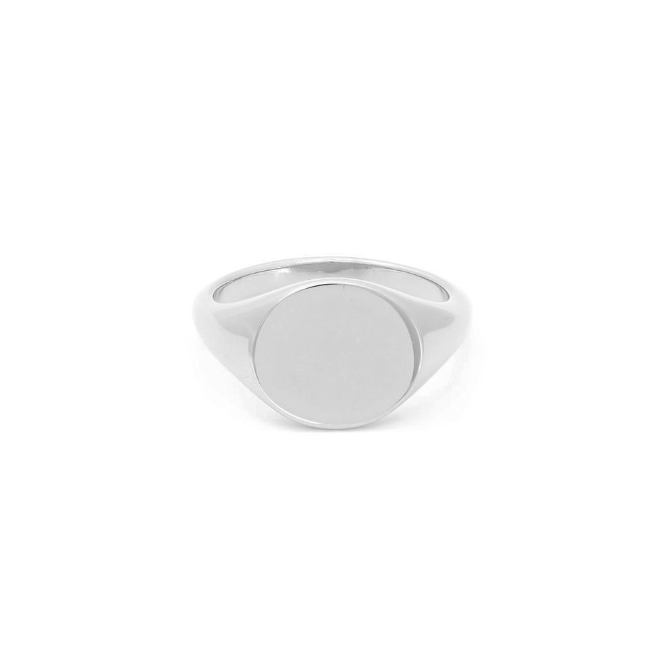 Mantra Signet Ring