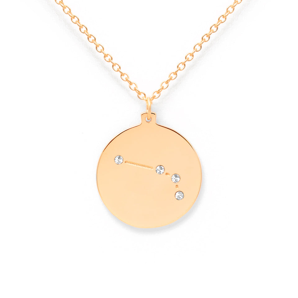 Constellation ARIES Necklace Glossy