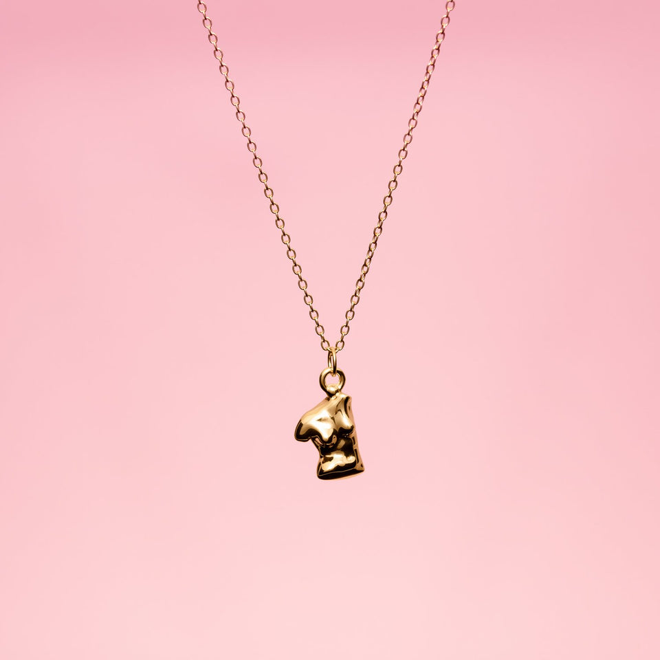 Womanhood Pendant Solid Gold 14 ct