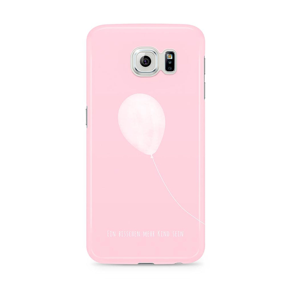 Life Joy Baloon Pink Phone Case