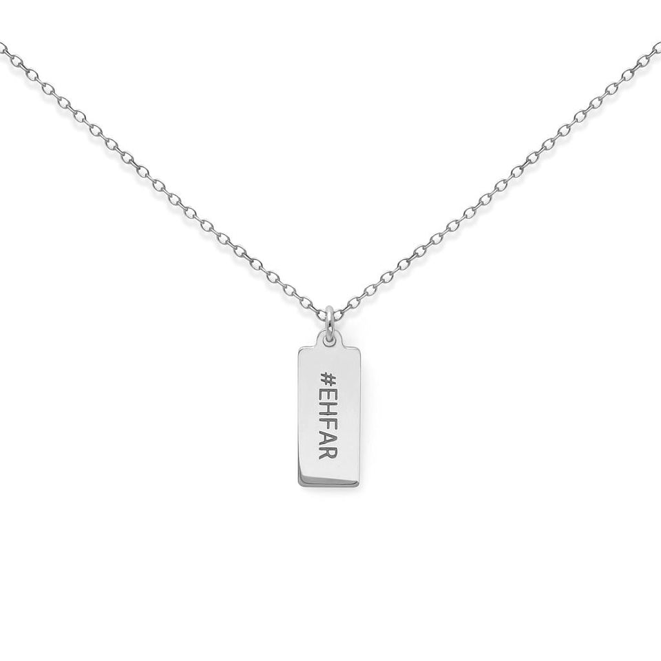 Make a Wish EHFAR Tag Necklace