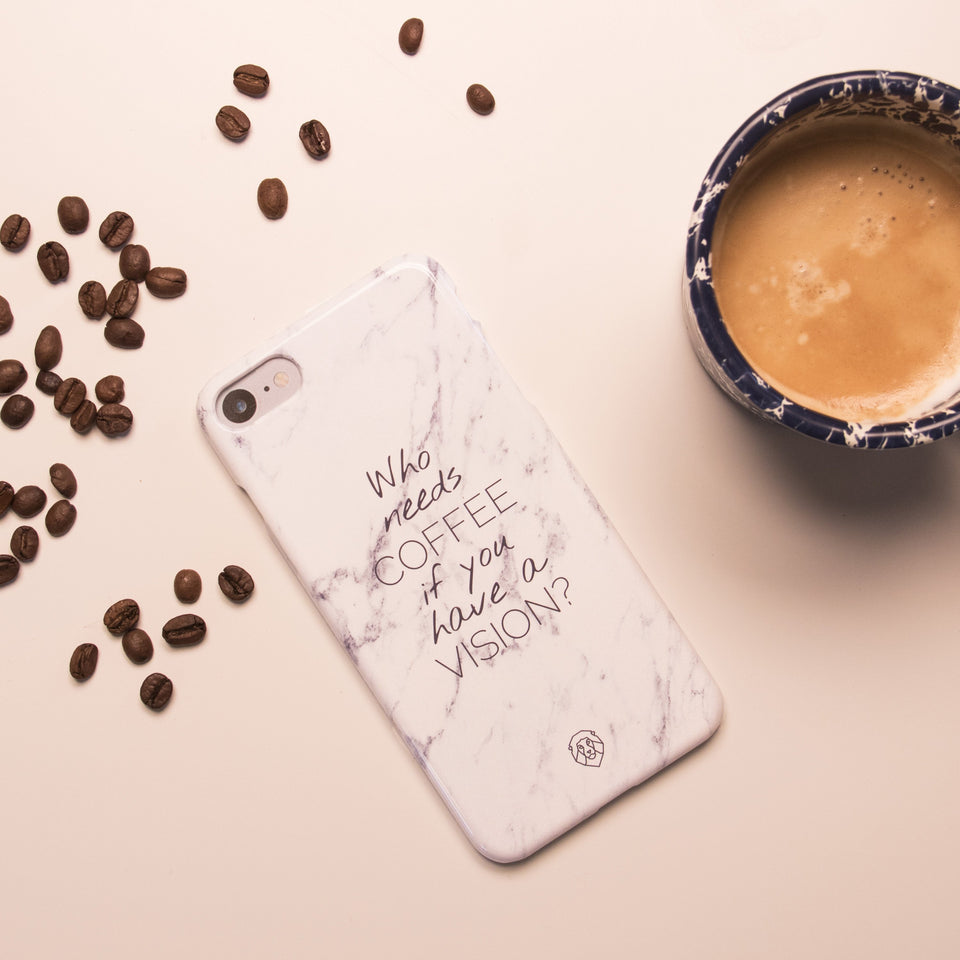 EHFAR Coffee White Phone Case