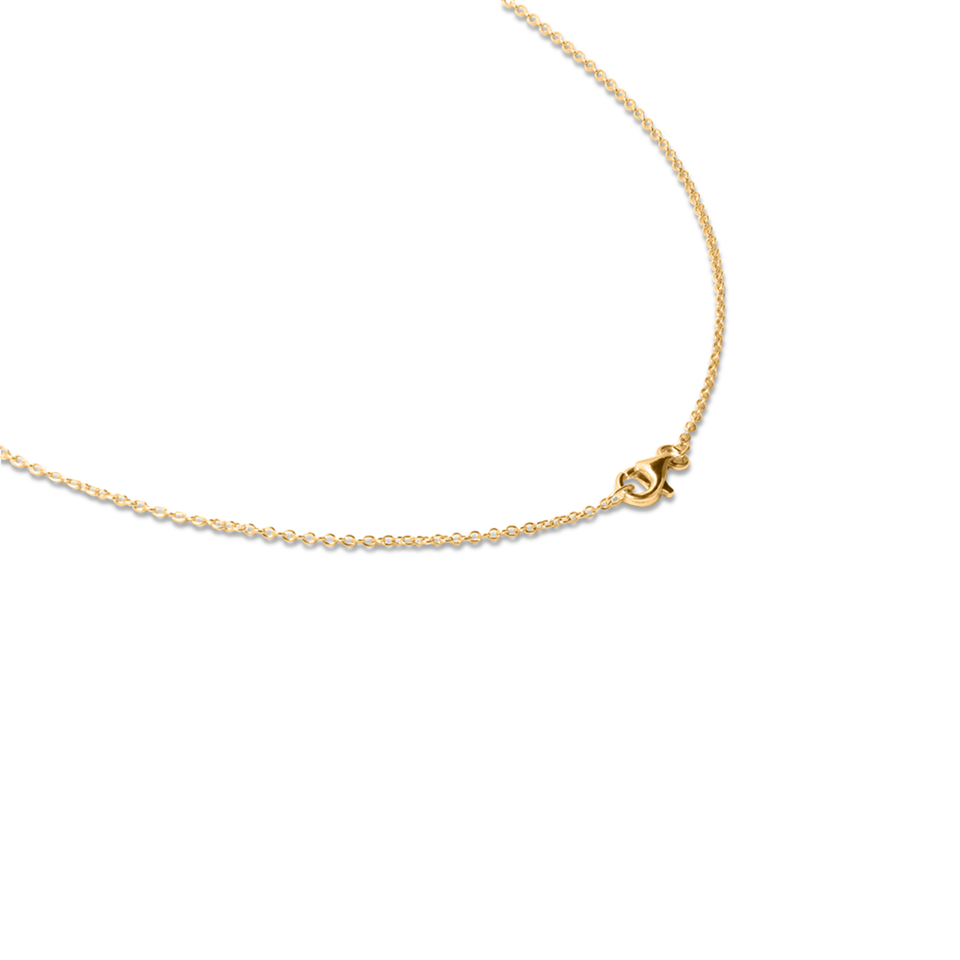 Petite Triple Letter Necklace