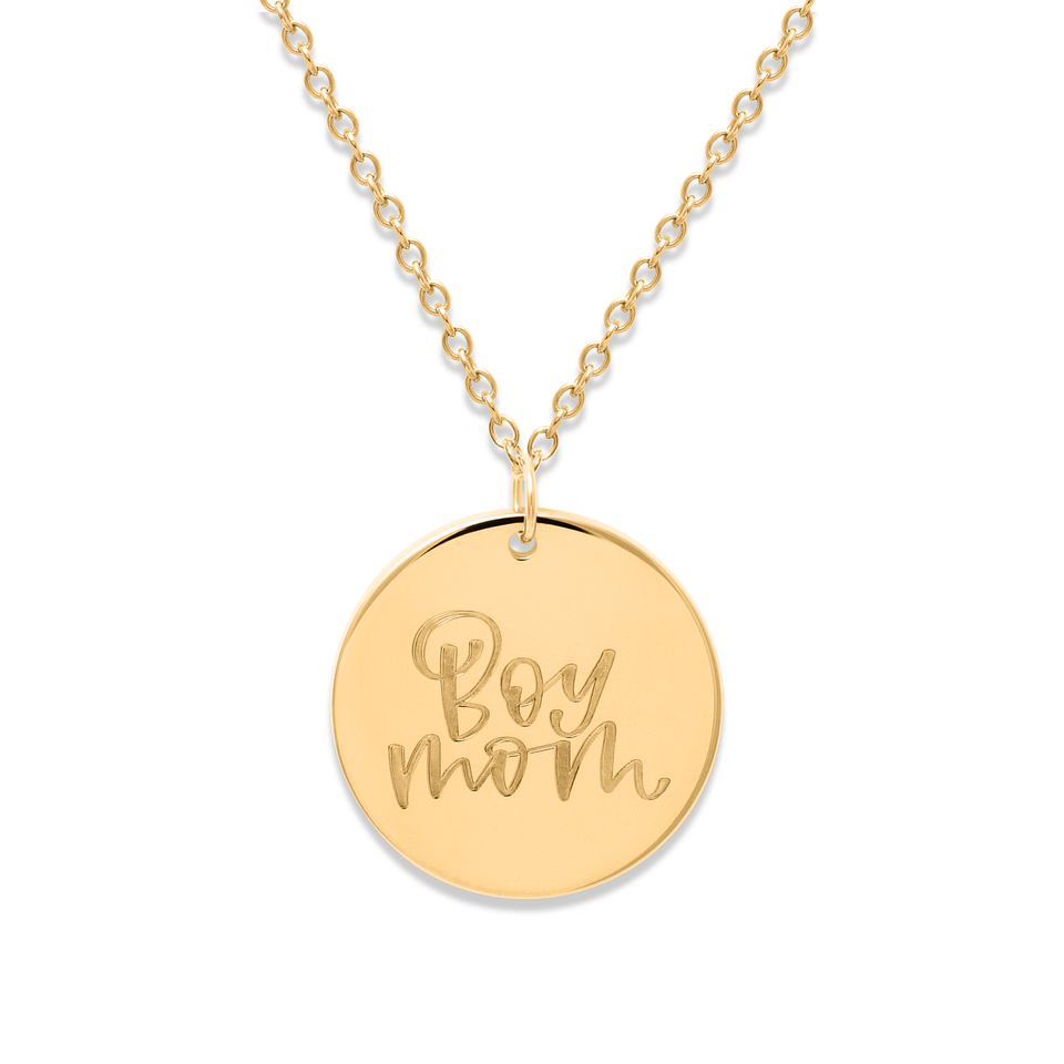 Boy Mom Necklace #mommycollection