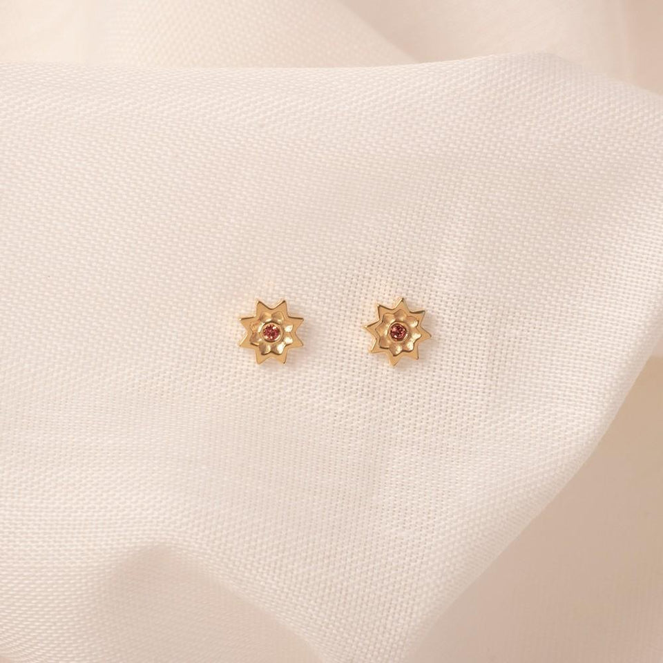 Birthstone MAR Earrings