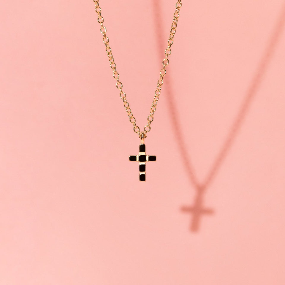Make a Wish Cross Choker