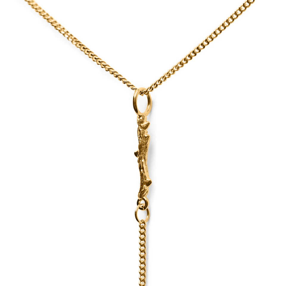 Thorn Lariat Necklace