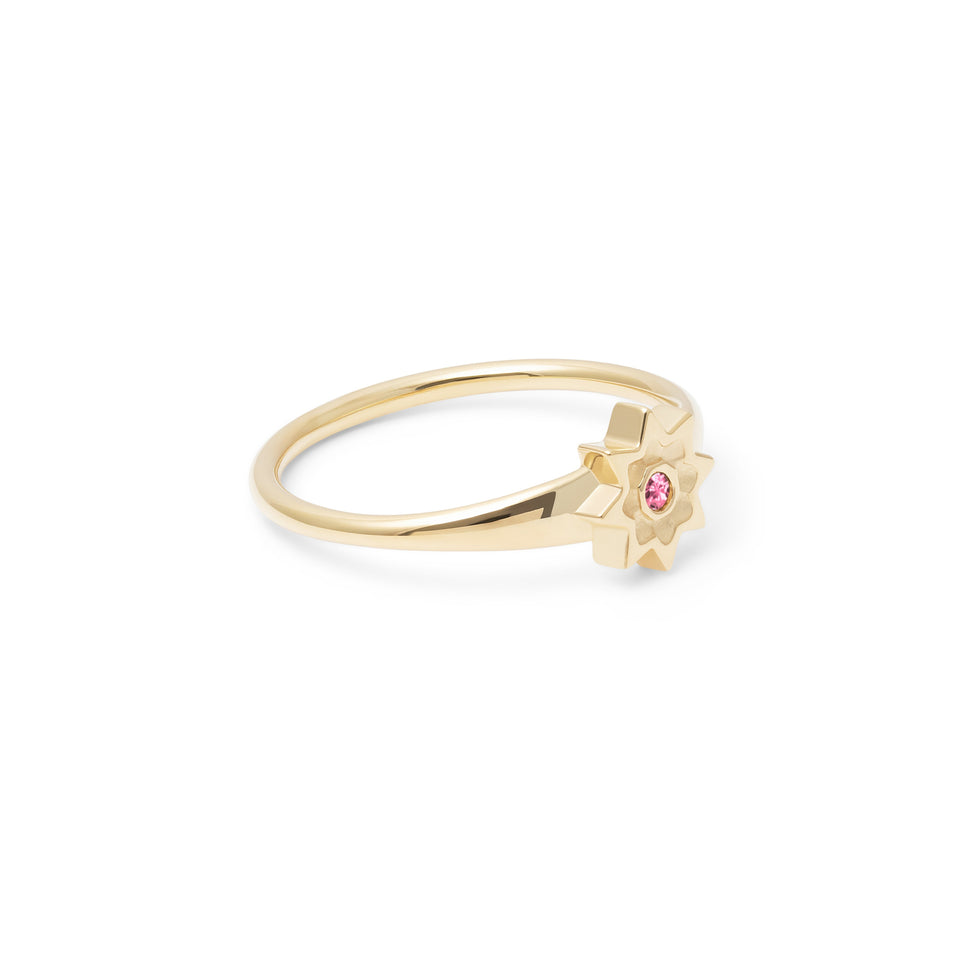 Birthstone OCT Ring