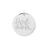 Girl Mom Pendant #mommycollection