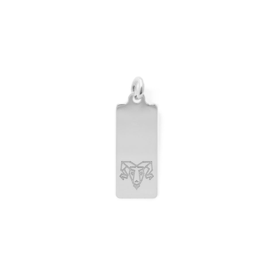 Make a Wish Aries Tag Pendant