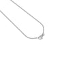 Zodiac Birthstone Necklace (Sagittarius) Solid Gold 14 ct