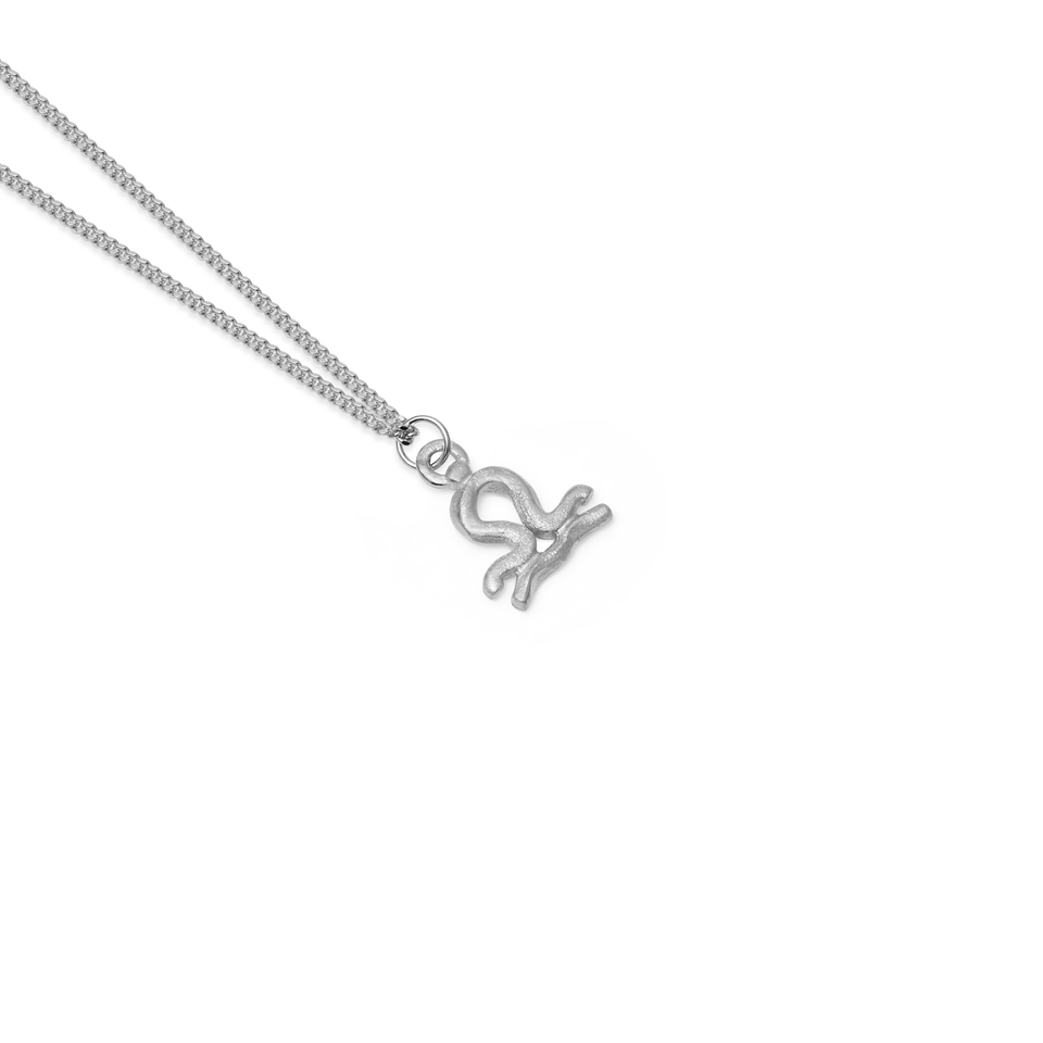 Zodiac Charm Necklace (Libra)