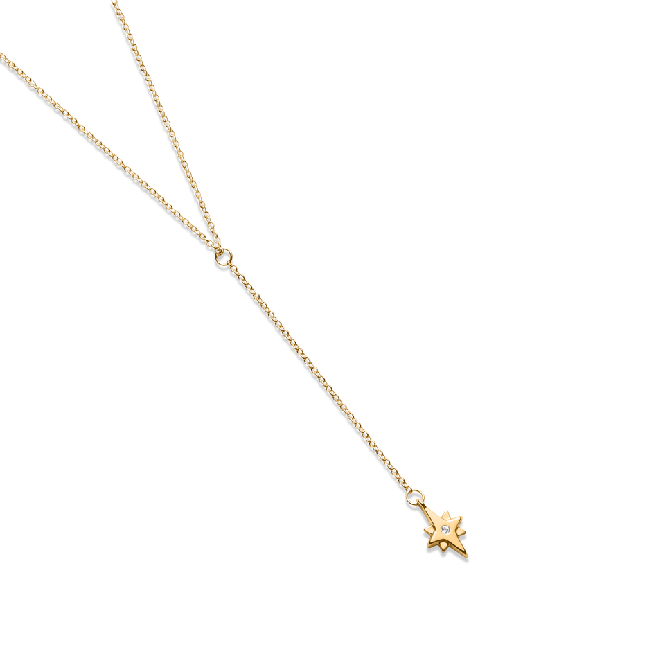 Star Dancer Lariat Necklace