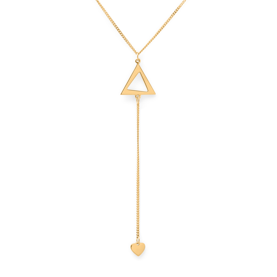Spread Love Lariat Necklace