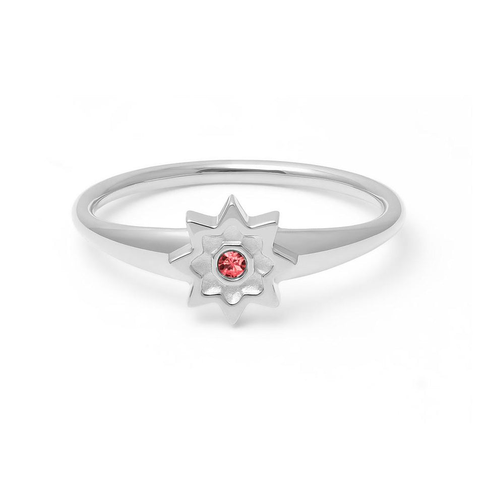 Birthstone JUL Ring
