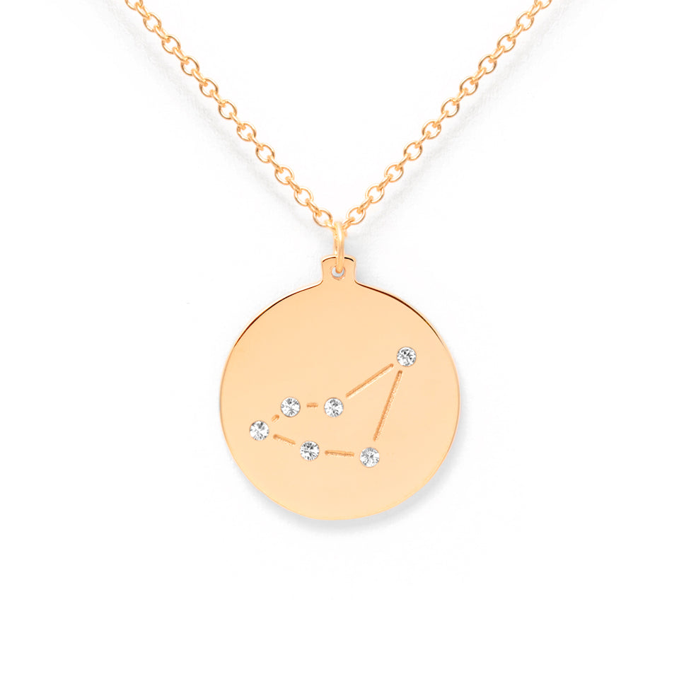 Constellation CAPRICORN Necklace Glossy
