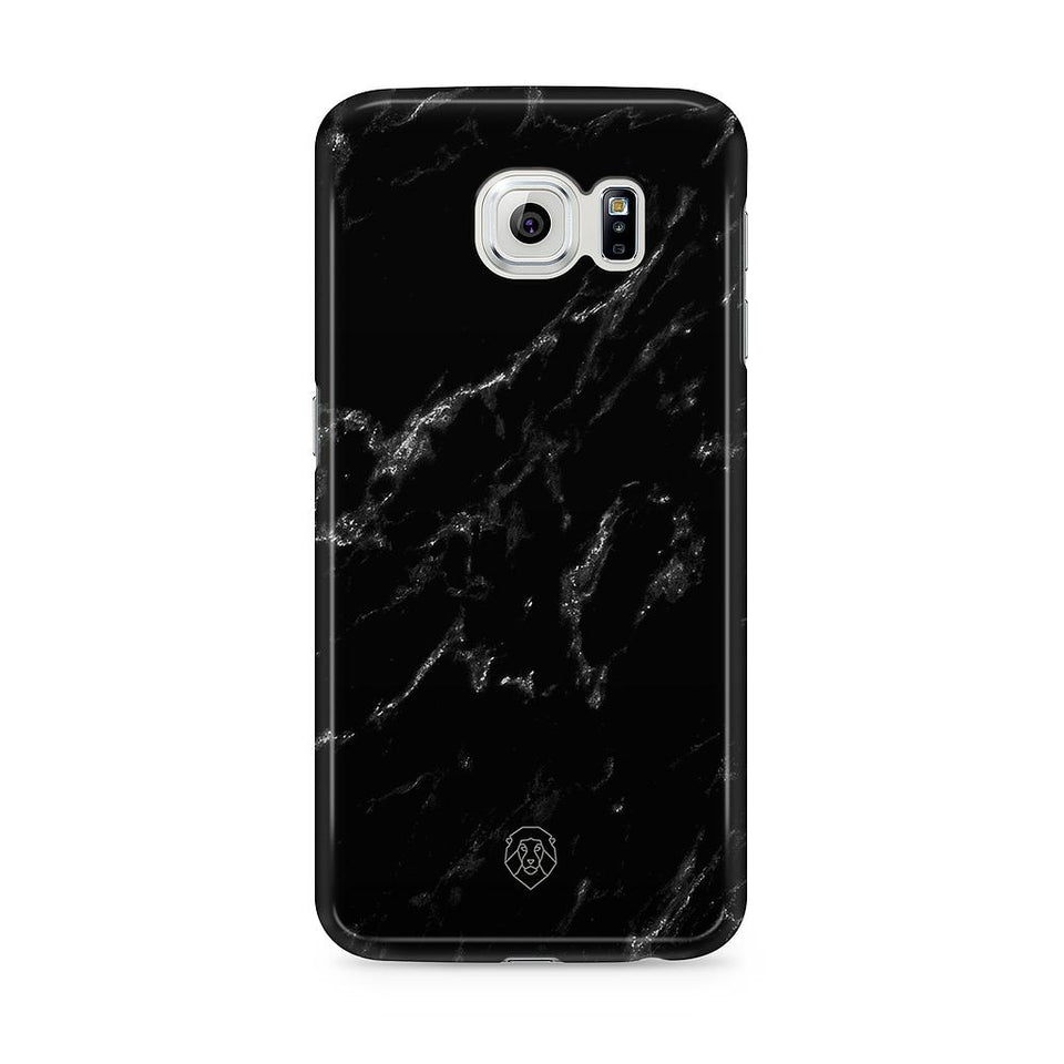 EHFAR Black Marble Phone Case