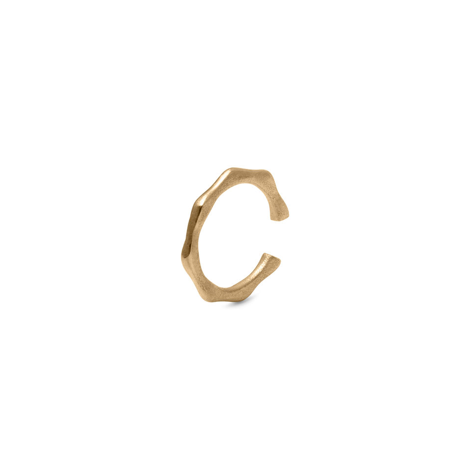Fluid Ear Cuff Solid Gold 14 ct DON'T USE