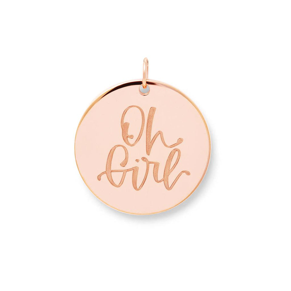 Oh Girl Pendant #mommycollection