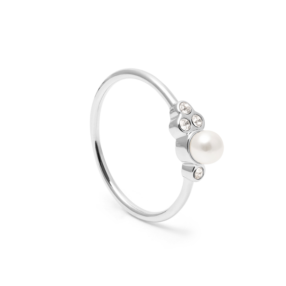 Mother of pearl Ring Crystal