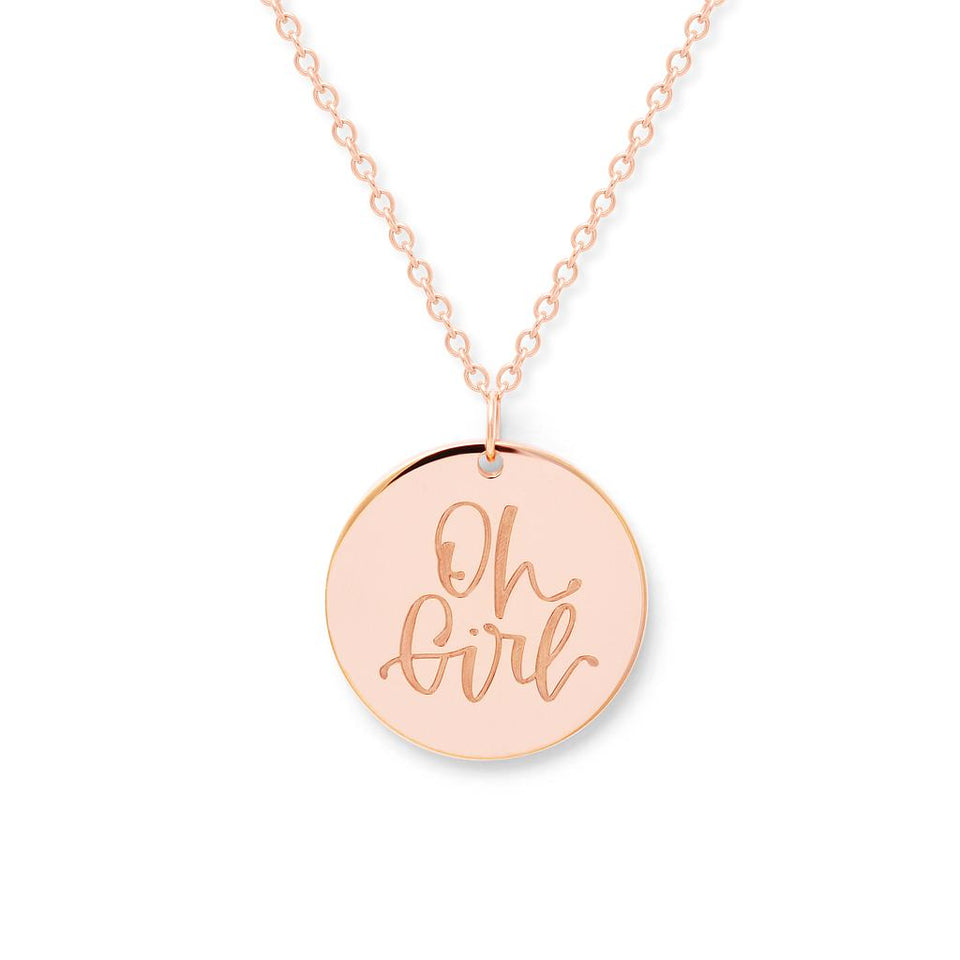 Oh Girl Necklace #mommycollection