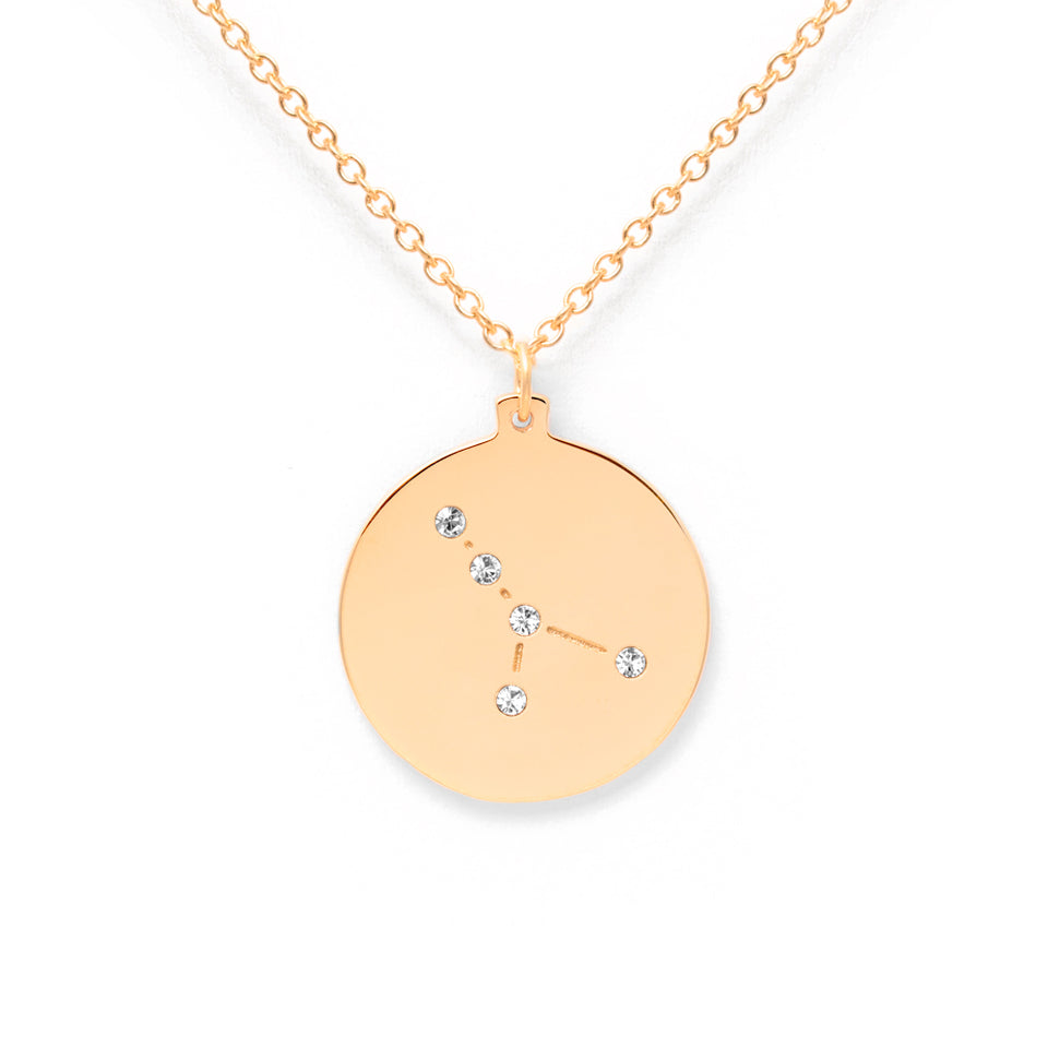 Constellation CANCER Necklace Glossy
