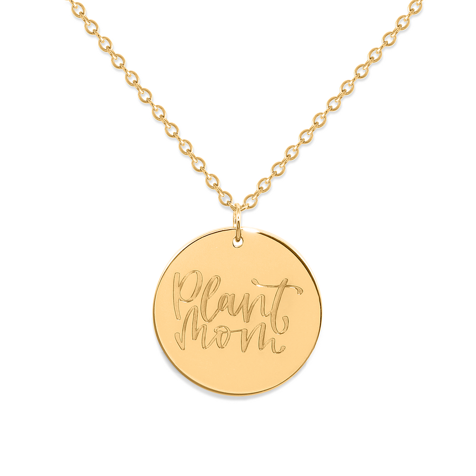 Plant Mom Necklace #mommycollection