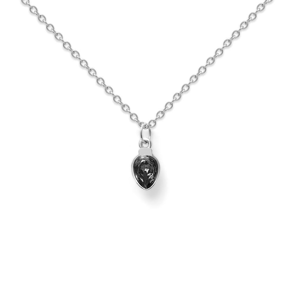 Amparo Necklace Black Diamond
